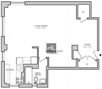 Studio, Theater District Rental in NYC for $3,185 - Photo 2