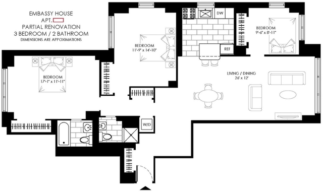 4 Bedrooms, Turtle Bay Rental in NYC for $6,150 - Photo 2