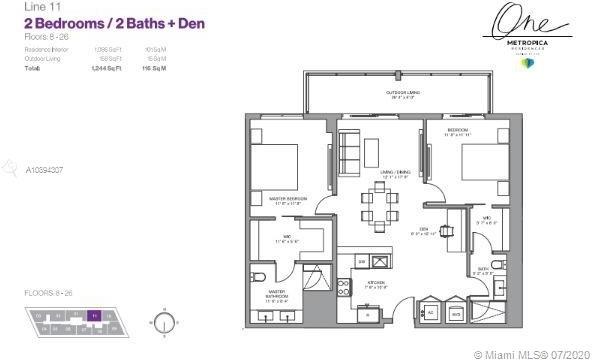 2 Bedrooms, Savannah Rental in Miami, FL for $2,925 - Photo 2