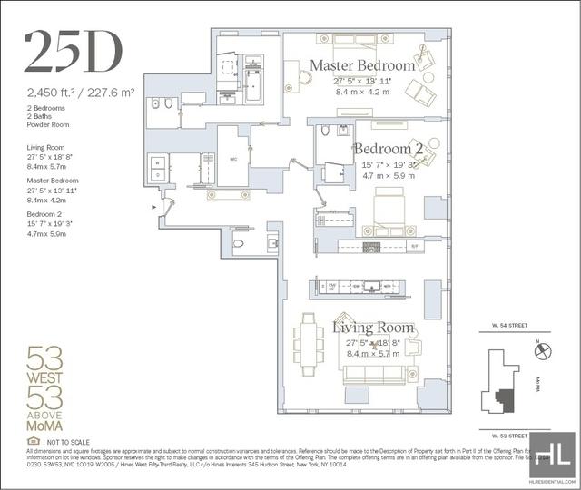 2 Bedrooms, Midtown East Rental in NYC for $20,833 - Photo 2