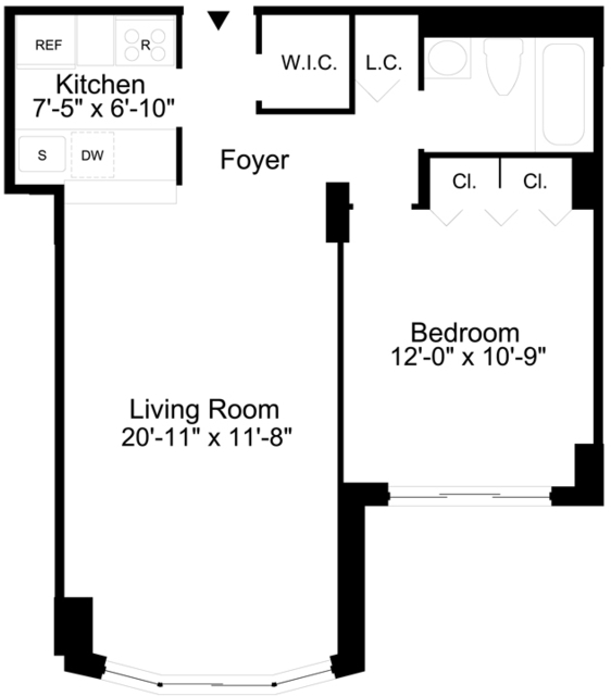 1 Bedroom, Sutton Place Rental in NYC for $2,579 - Photo 2
