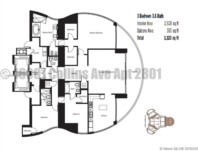 3 Bedrooms, Tatum's Ocean Beach Park Rental in Miami, FL for $8,150 - Photo 2