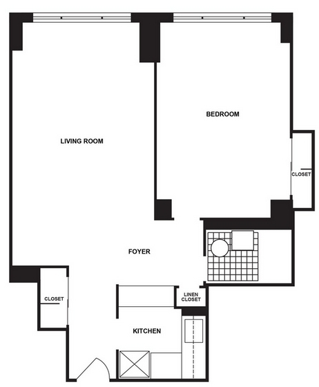 1 Bedroom, LeFrak City Rental in NYC for $1,904 - Photo 2