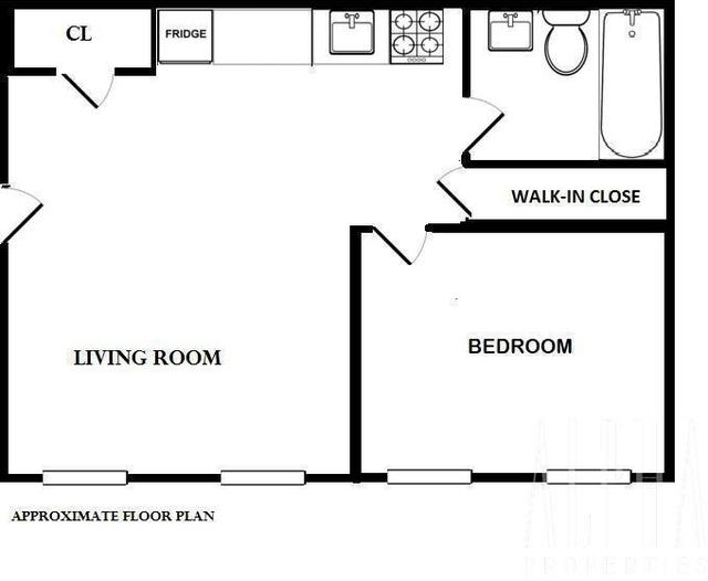 1 Bedroom, Midtown East Rental in NYC for $2,000 - Photo 2