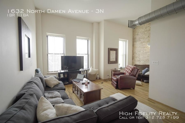 1 Bedroom, Bucktown Rental in Chicago, IL for $2,500 - Photo 1