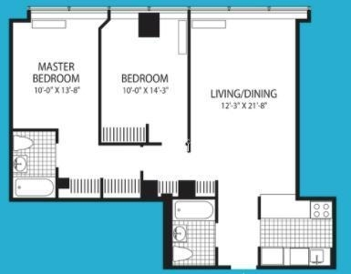 2 Bedrooms, Financial District Rental in NYC for $4,521 - Photo 1