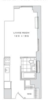 Studio, Financial District Rental in NYC for $2,000 - Photo 1