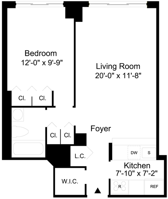 1 Bedroom, Sutton Place Rental in NYC for $2,929 - Photo 2