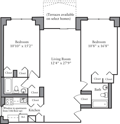 2 Bedrooms, Yorkville Rental in NYC for $4,665 - Photo 2