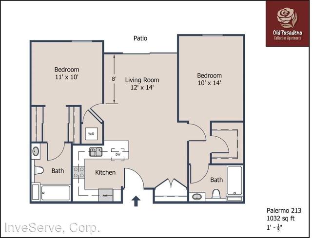 2 Bedrooms, Old Pasadena Rental in Los Angeles, CA for $2,646 - Photo 1