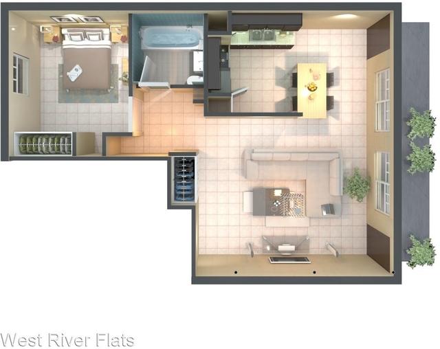 1 Bedroom, Northwest Tampa Rental in Tampa-St. Petersburg, FL for $1,150 - Photo 1