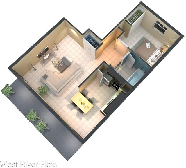 1 Bedroom, Northwest Tampa Rental in Tampa-St. Petersburg, FL for $1,150 - Photo 2