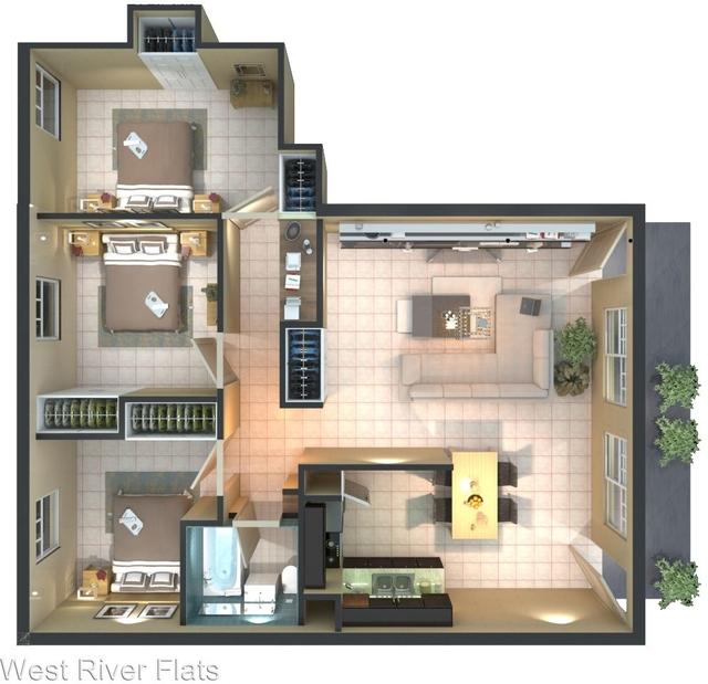 3 Bedrooms, Northwest Tampa Rental in Tampa-St. Petersburg, FL for $1,599 - Photo 2