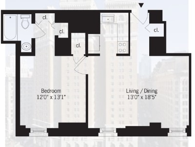 1 Bedroom, Koreatown Rental in NYC for $2,795 - Photo 2