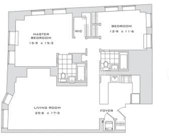 2 Bedrooms, Financial District Rental in NYC for $4,125 - Photo 2