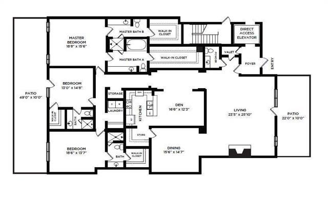 3 Bedrooms, North Central Dallas Rental in Dallas for $6,790 - Photo 1