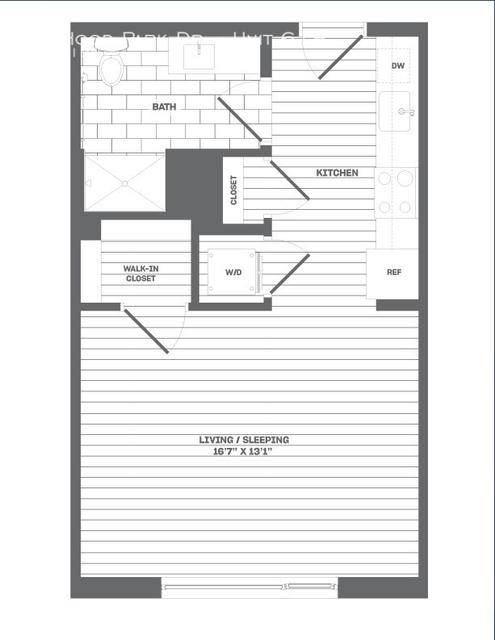 Studio, Thompson Square - Bunker Hill Rental in Boston, MA for $2,685 - Photo 2