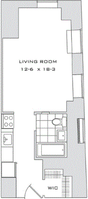 Studio, Financial District Rental in NYC for $2,021 - Photo 2