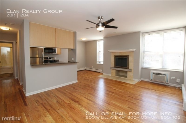 2 Bedrooms, Wrightwood Rental in Chicago, IL for $2,450 - Photo 2