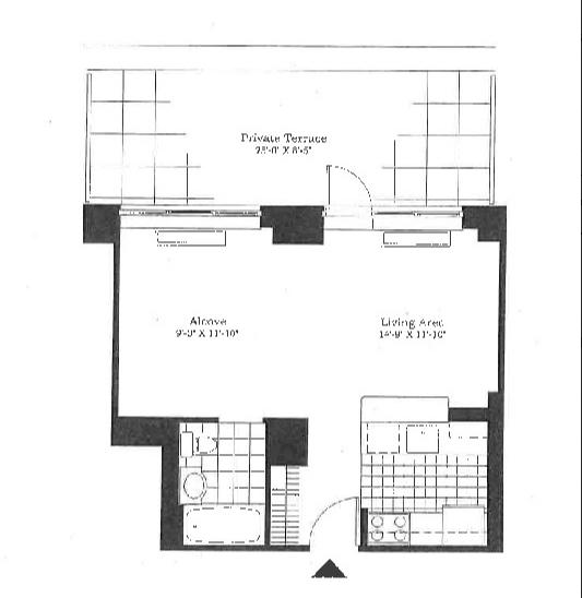 Studio, East Harlem Rental in NYC for $3,050 - Photo 2