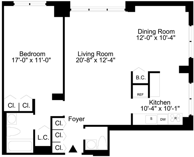 1 Bedroom, Lincoln Square Rental in NYC for $4,470 - Photo 2