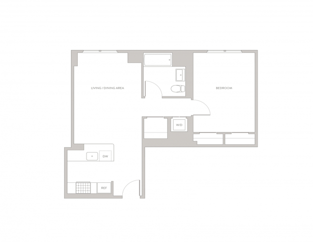 1 Bedroom, Long Island City Rental in NYC for $3,368 - Photo 2