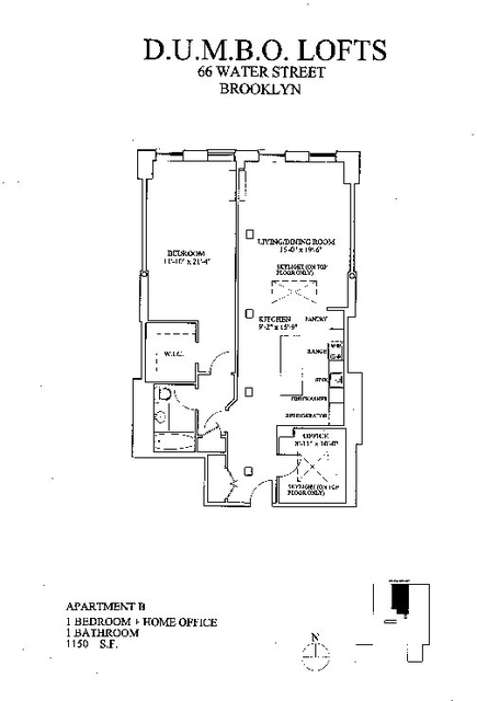 2 Bedrooms, DUMBO Rental in NYC for $4,333 - Photo 2