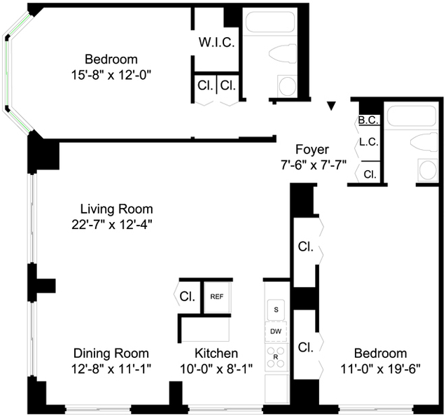2 Bedrooms, Yorkville Rental in NYC for $5,246 - Photo 2