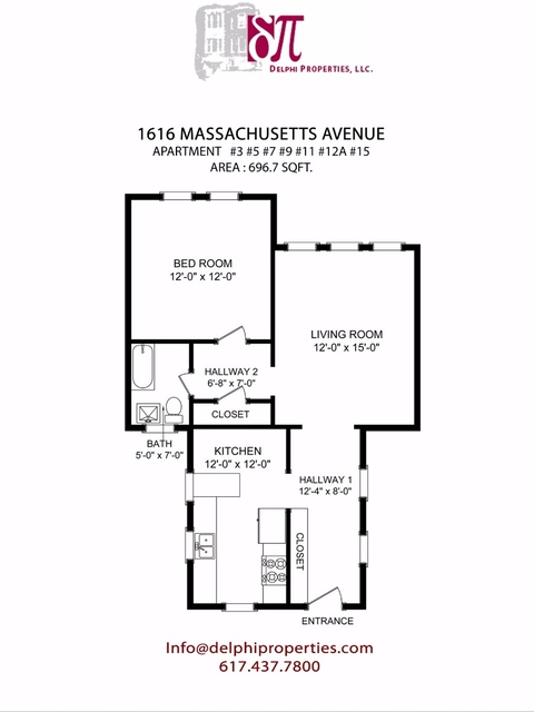 1 Bedroom, Neighborhood Nine Rental in Boston, MA for $2,200 - Photo 1