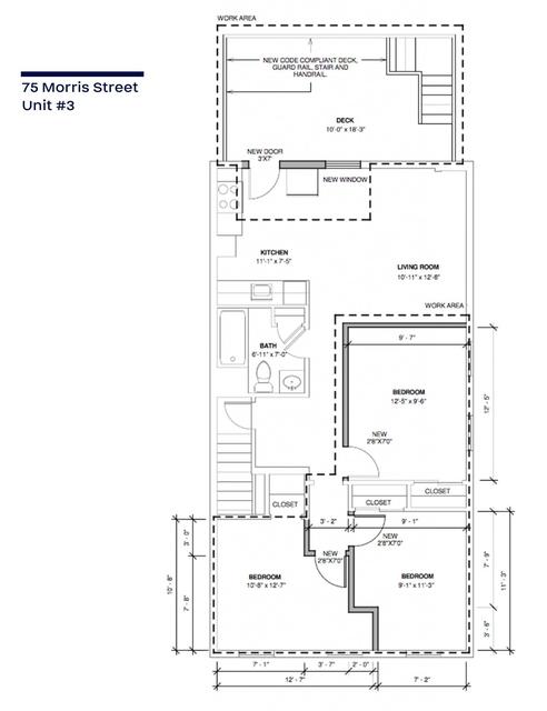 3 Bedrooms, Central Maverick Square - Paris Street Rental in Boston, MA for $2,470 - Photo 2