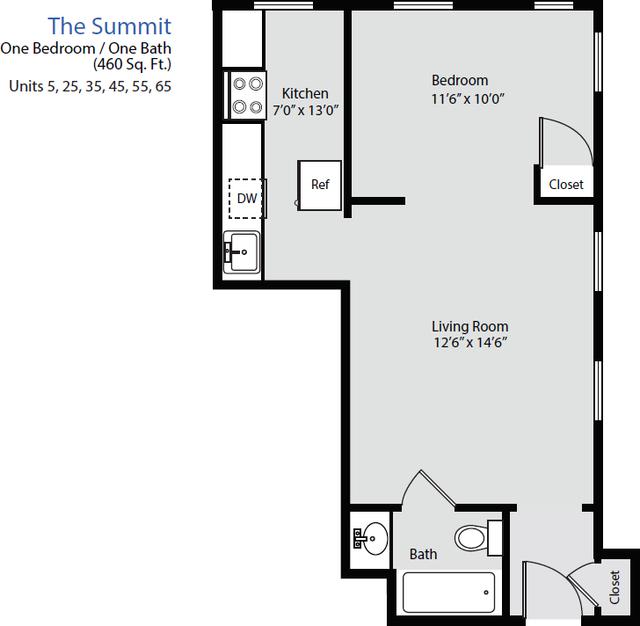 1 Bedroom, Washington Square Rental in Boston, MA for $2,295 - Photo 2