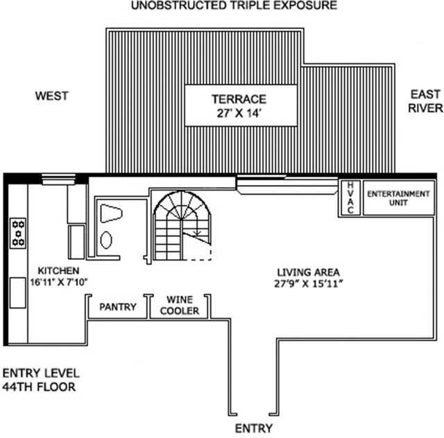 2 Bedrooms, Turtle Bay Rental in NYC for $9,000 - Photo 2