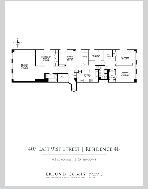 4 Bedrooms, Yorkville Rental in NYC for $7,995 - Photo 2