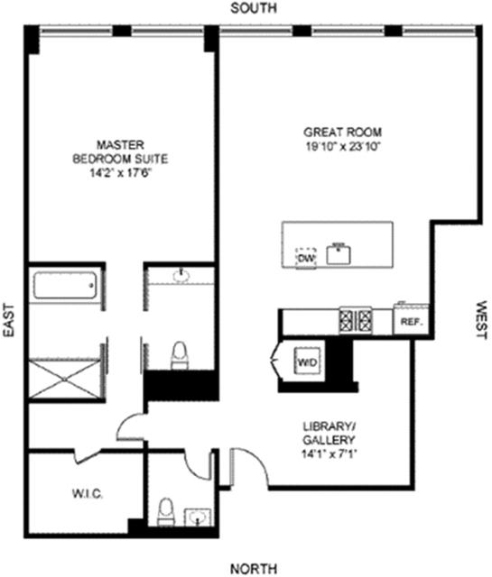 1 Bedroom, SoHo Rental in NYC for $12,500 - Photo 2
