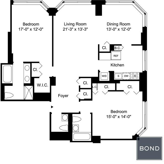 2 Bedrooms, Upper East Side Rental in NYC for $7,079 - Photo 2