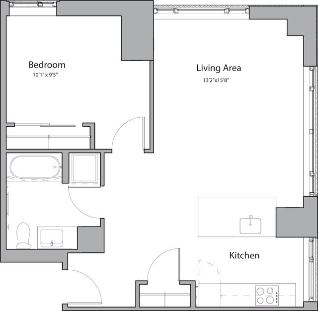 1 Bedroom, Shawmut Rental in Boston, MA for $2,770 - Photo 1