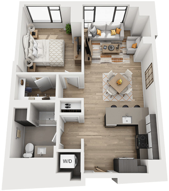 1 Bedroom, Shawmut Rental in Boston, MA for $3,570 - Photo 1