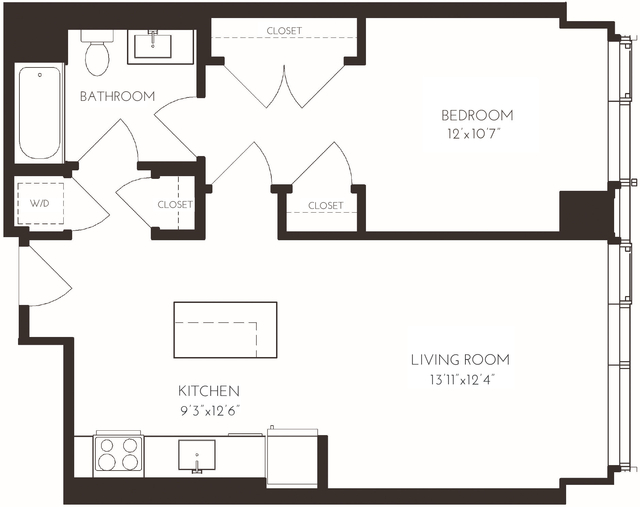 1 Bedroom, Seaport District Rental in Boston, MA for $3,515 - Photo 1
