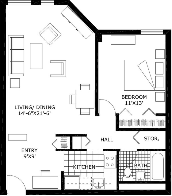 1 Bedroom, Back Bay East Rental in Boston, MA for $3,675 - Photo 1