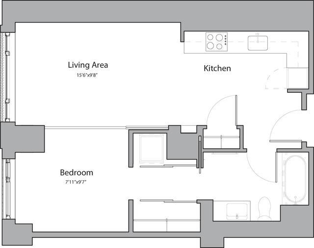 1 Bedroom, Shawmut Rental in Boston, MA for $2,665 - Photo 1