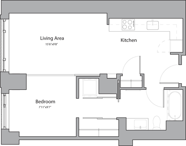 1 Bedroom, Shawmut Rental in Boston, MA for $2,585 - Photo 1