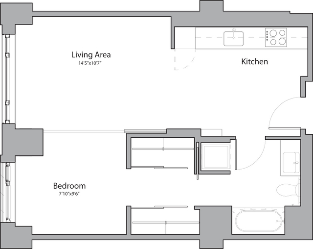 1 Bedroom, Shawmut Rental in Boston, MA for $2,705 - Photo 1