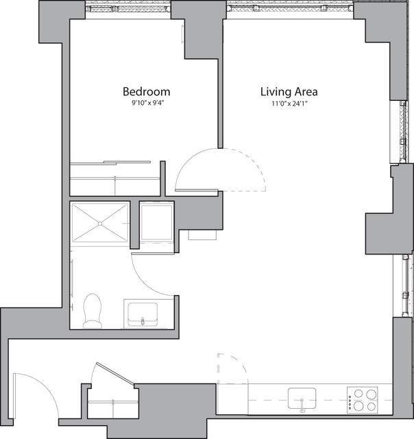 1 Bedroom, Shawmut Rental in Boston, MA for $2,745 - Photo 1