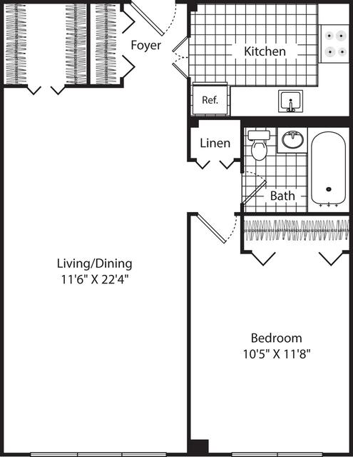 1 Bedroom, Neighborhood Nine Rental in Boston, MA for $1,905 - Photo 1