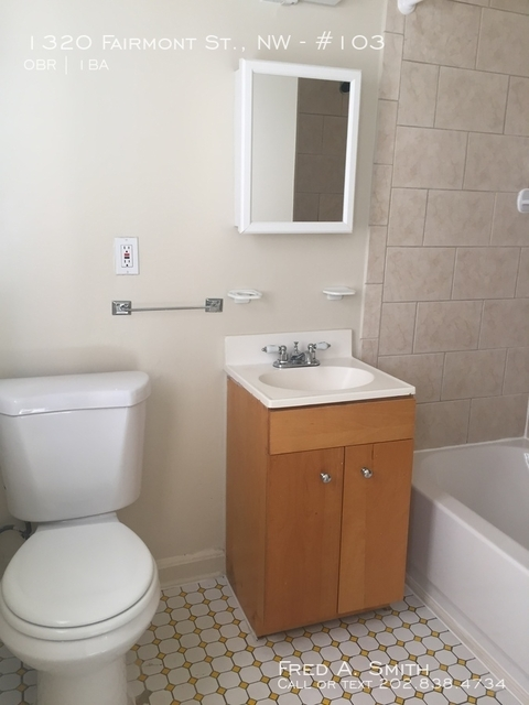 Studio, Columbia Heights Rental in Washington, DC for $1,195 - Photo 2