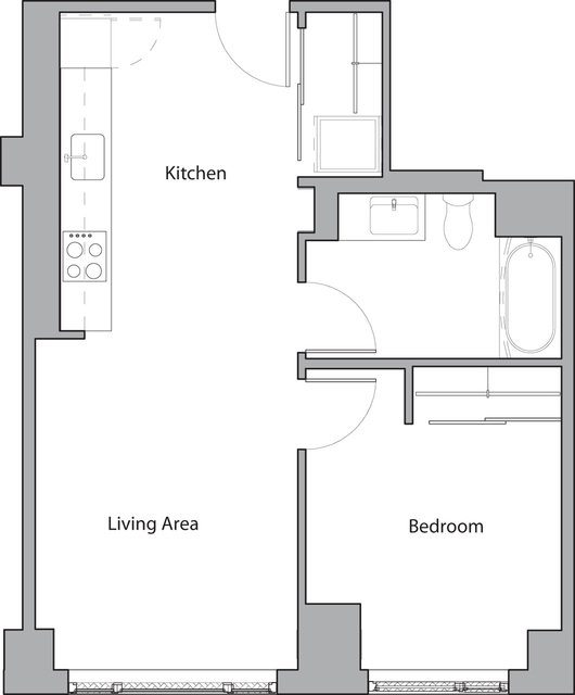 1 Bedroom, Shawmut Rental in Boston, MA for $2,505 - Photo 1