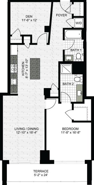 1 Bedroom, Downtown Boston Rental in Boston, MA for $3,660 - Photo 1