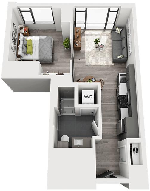 1 Bedroom, Shawmut Rental in Boston, MA for $3,088 - Photo 1