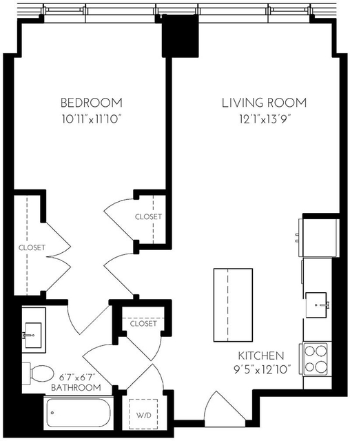 1 Bedroom, Seaport District Rental in Boston, MA for $4,217 - Photo 1