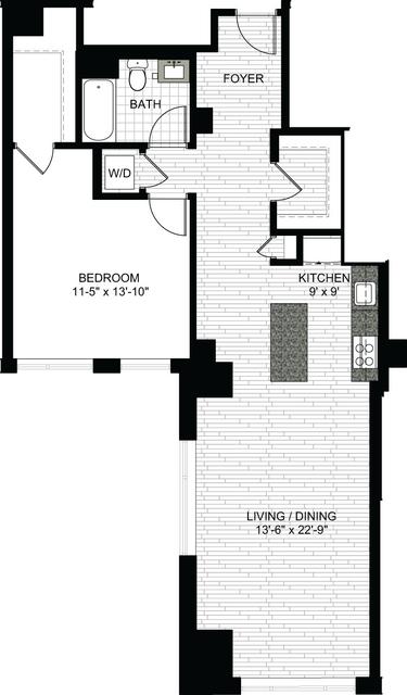 1 Bedroom, Downtown Boston Rental in Boston, MA for $3,015 - Photo 1